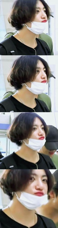Ah Jungkook needs a haircut Namjoon, Jungkook Cute, Kookie Bts, Jungkook Oppa, Bts Jungkook, Jung Kook, Foto Bts, Bts Photo, V Taehyung