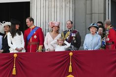 Sophie and Queen Elizabeth II - Trooping the Color for the Queen 7