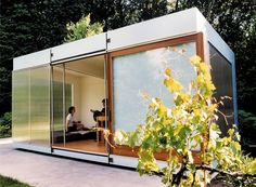 tiny house, tiny house - love these modular tiny house cubes. Arrange them in any order