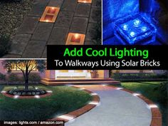 We've shared post on garden lights and solar powered sun jars. Over at lights.com that have solar brick pavers which can be inserted into a walkway or driveway. During the day the lights are built-in solar unit recharges the batteries. At night, the efficient LED lights turn themselves on and run 8+ hours on a …