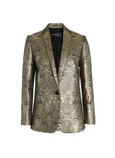 Veste de tailleur Zadig et Voltaire, poches passepoilées, un bouton, 49%  coton ac9afca1ce7