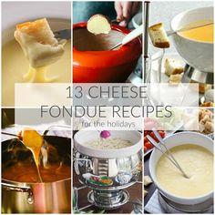 13 Festive Cheese Fondues - A Dash of Sanity