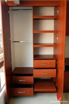 Closets de madera closets modernos bogot closets de for Decoracion apartamentos modernos en bogota