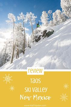 Taos Ski Valley, New Mexico — KidTripster New Mexico Resorts, New Mexico Vacation, Ski Vacation, Mexico Travel, Shows Like Stranger Things, Taos Ski Valley, Taos New Mexico, Skiing, Snowboarding