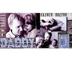 Dad Scrapbook Layout Ideas: Father's Roles Layout
