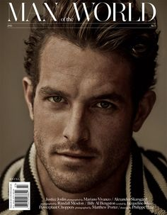 Justice Joslin by Mariano Vivanco for Man of The World