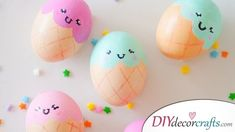 Cute Ice-Cream - Easter Egg Painting
