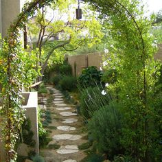 Mediterranean Home Small Front Yard Landscaping Ideas Design, Pictures, Remodel, Decor and Ideas