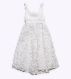 White Lace Christening gown-Full Length by letsdecorateonline