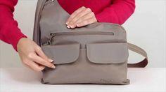 Travelon Anti Theft Cross Body Messenger Bag Style 42373