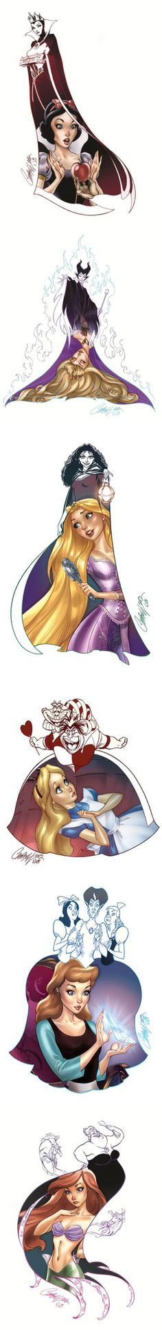 omg i want the evil queen and snow white!!!! #badass
