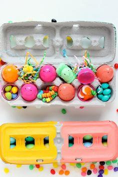 DIY: Painted Egg Cartons treat holder...