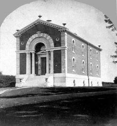 Shaw's Museum. Missouri Botanical Garden. (1868 to 1874)