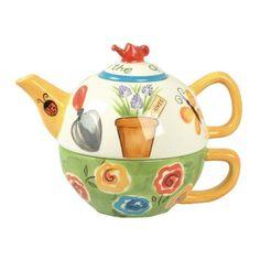 Fun tea pot