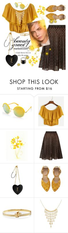 """""""Boho Chic"""" by fashion-holy ❤ liked on Polyvore featuring Beauty & The Beach, Alexander McQueen, Yves Saint Laurent, Carelle, Ross-Simons and Lagos"""