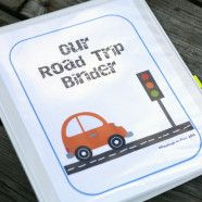 Road Trip Activity Pack free printable from PlaydoughtoPlato