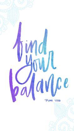 Find Your Balance   Yoga Digi-Downloads