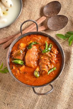 Nadan Kozhi Curry /Kerala Style Chicken Curry - Gluten Free