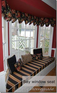 Bay Window Seat Just Had One Built Need Cushion Sd