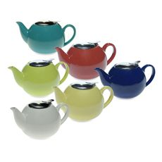 Ceramic Teapots with Infusers - 24 Ounces - Bed Bath & Beyond