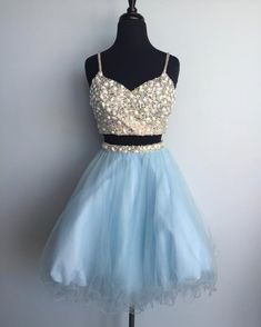 Spaghetti Straps Homecoming Dresses,Short Prom Dresses,Cheap Homecoming