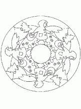 Coloriage Mandala pour les Petits sur Hugolescargot.com
