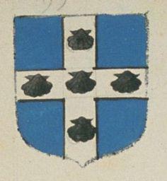 Le Prieuré de Crouzilles. Porte : d'azur, à une croix d'argent, chargée de cinq coquilles de sable | N° 99 > Richelieu