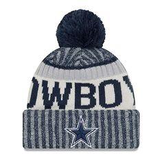 new styles a7a4b c69ba New Era Dallas Cowboys NFL Sideline On Field 2017 Sport Knit Beanie Beany  Mütze Cowboys Gifts