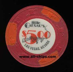 Las Vegas Casino Chip of the day is a $5 Little Caesars 2nd issue you can see here http://www.all-chips.com/ChipDetail.php?ChipID=17580