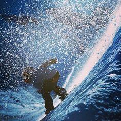 Shredding the slopes - snowboarding #snowboarding #snowboarder #snowboard…
