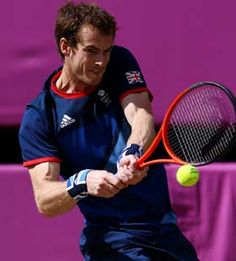 British tennis player Andy Murray gave the hometown crowd quite a show Sunday (Aug. when he defeated tennis great Roger Federer of Switzerland to take the 2012 Summer Olympics gold medal. Tennis Camp, Atp Tennis, Sport Tennis, Olympic Sports, Tennis Players, Murray Tennis, Federer Wimbledon, Australian Open Tennis, Sports