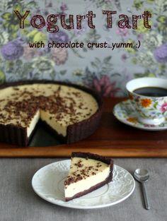 Diabetic Good Baking: Yogurt Tart