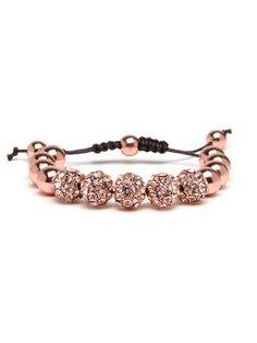 Rose Gold Bauble Bar Bracelet. I want this!!!