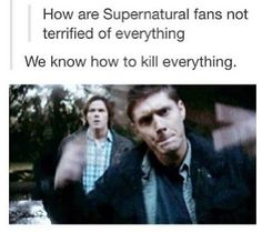 We got this. hahaha #Supernatural