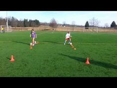 ▶ FTC Soccer 9 Year Old Foot Skills Drill - YouTube