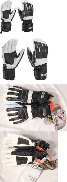 Gloves and Mittens 62172: Leki Hs Mountain Expedition S Gtx Gloves S Trigger Leki Gloves New BUY IT NOW ONLY: $49.0