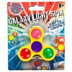 Galaxy Light Up Spin Fidget Spinner Fidget Cube, Fidget Toys, Hand Fidgets, Galaxy Lights, Toys Uk, Light Up, Spin, Creative