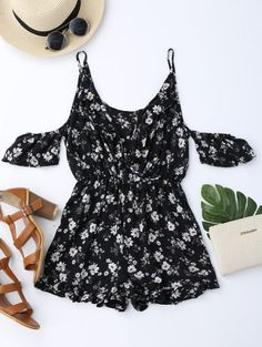 GET $50 NOW | Join Zaful: Get YOUR $50 NOW!http://m.zaful.com/cold-shoulder-ruffle-cami-floral-romper-p_284490.html?seid=3464902zf284490