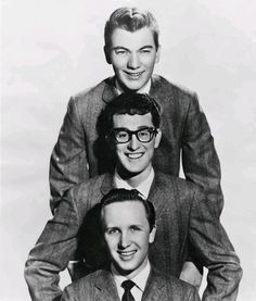 Buddy Holly & Les Crickets (his other heads)