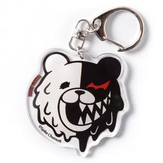 If you thought the collaboration between LISTEN FLAVOR and Danganronpa was limited to cool clothes, you are in for a surprise as they also make equally vibrant accessories such as this keychain! Made of acrylic, it features the evil Monokuma, his head melting away as he laughs sadistically. You probably haven't seen the last of him...  #tokyootakumode #toy Danganronpa Merch, Danganronpa Trigger Happy Havoc, Tokyo Otaku Mode, Mode Shop, 12th Birthday, Cool Outfits, Personalized Items, Cool Stuff, Collaboration