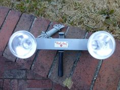 Vintage Mansfield Holiday Cat. No. 2200 Movie Light Bar Lamp Westinghouse  #Mansfield