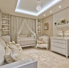 Nursery. White.
