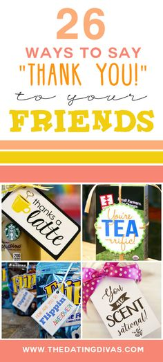 26 Ways to Show Your Gratitude to Friends