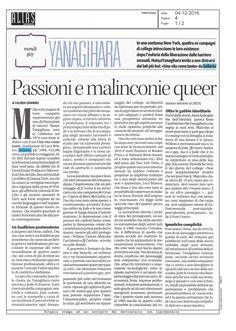 Hanya #Yanagihara #UnaVitaComeTante «Jude crea con i lettori una complicità delicata e quasi ipnotica» scoprite come leggendo la ricca recensione di Valeria Gennero su #Alias il Manifesto.