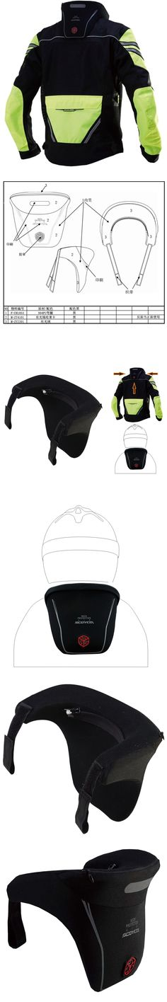 Scoyco N04 Motorbike Protector MX ATV Motocross Motorcycle Neck Brace Dakar Rally Racing Protective Gears helmet support Black