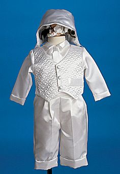 Baptism Outfit - Boys Sets with Long Pants