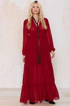 Mon Amour Maxi Dress - Okay Focus