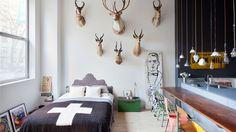 From Flea Market to Fine Art: Houssein Jarouche's Apartment in Chelsea, NYC | Yatzer