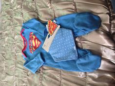 baby boy superman pjs so friggin so adorable
