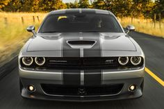 gray dodge challenger stripes - Google Search
